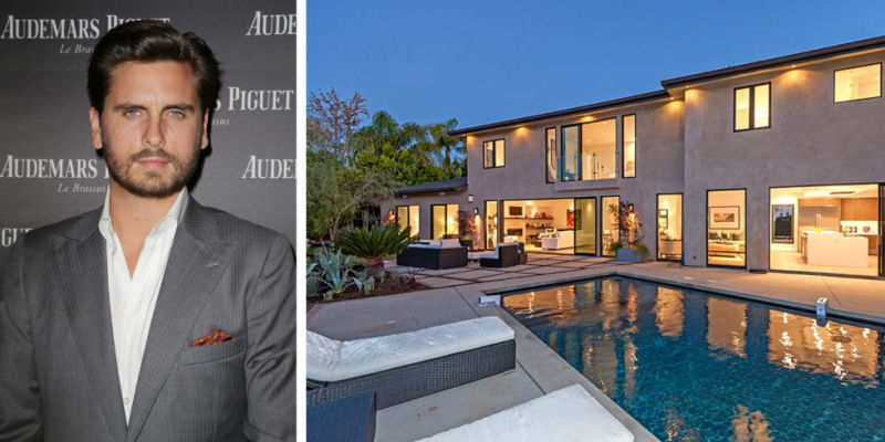 Scott Disick purchased this home in Beverly Hills for $3.69 million in January with plans to renovate and sell quickly.