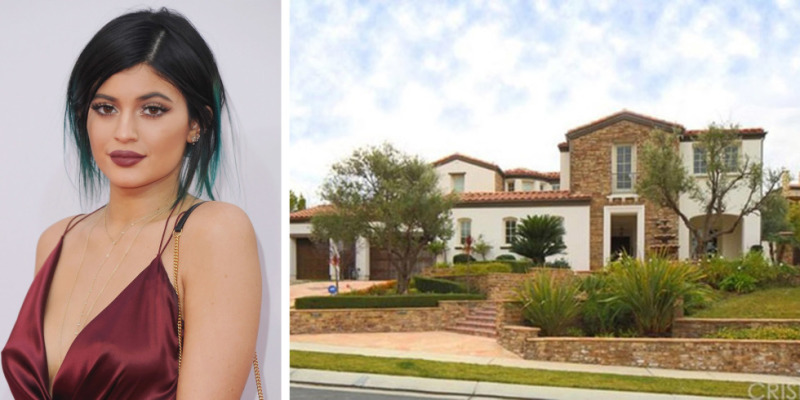 17-year-old Kylie just purchased this Calabases home for $2.7 million. It boasts five-bedrooms and six bathrooms.