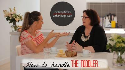 Toddler advice holder