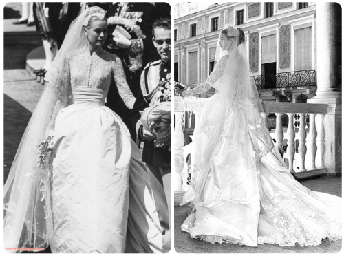 Timeless beauty - Grace Kelly's wedding dress took three dozen seamstresses six weeks to complete.