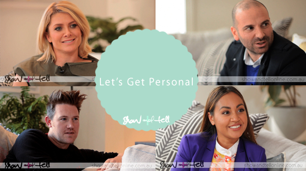 Let's get personal holder - georgie, eddie, nat, jess