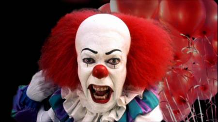 Pennywise's scariness hasn't diminished over the years. Not. one. bit.