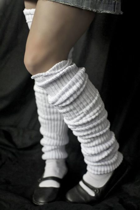 The height of school sock fashion