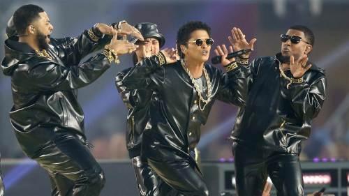 Bruno Mars sure can move