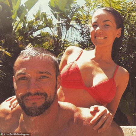 Kris Smith and girlfriend Maddy look loved up
