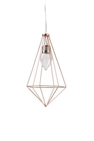 Typo_pyramid hanging cage light_$19.99