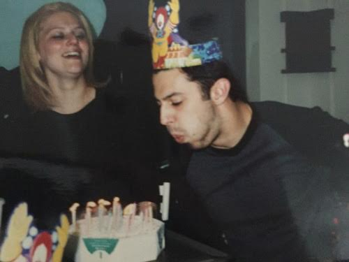 The fanciest of birthday parties. Note: Don't judge me on that hair. It was 1999.