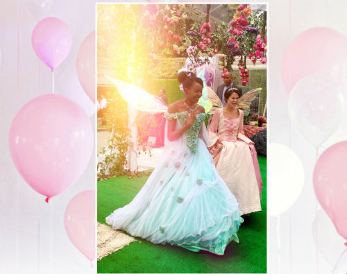 And then these two princesses rocked up....   Image: Beyonce.com