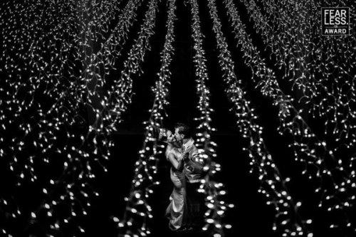 Nothing prettier field of fairy lights. Photo credit: Nei Bernardes