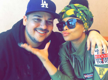 Rob Kardashian and reported fiance Blac Chyna