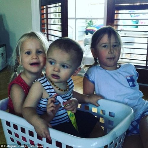 Lauren and Mayon's kids.