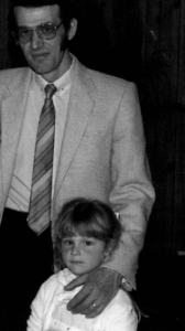 Me and my dad, Ron