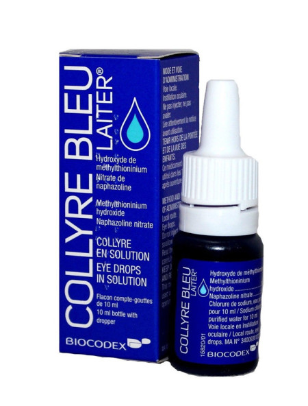 blue eye drops
