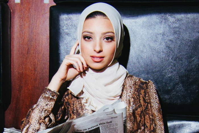 muslim woman in playboy