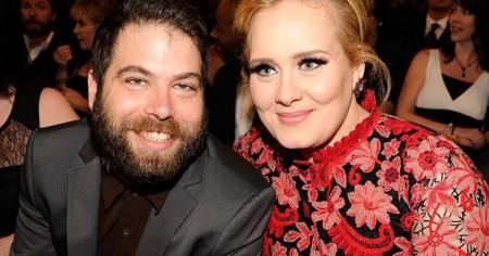 Adele and her partner Simon Konecki