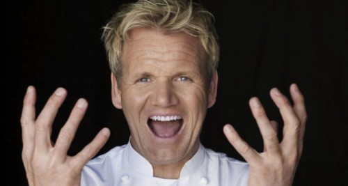 Gordon Ramsay is the poster boy for bad language.