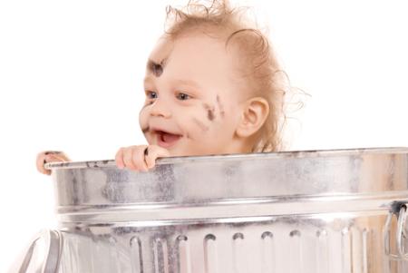 KID IN BIN