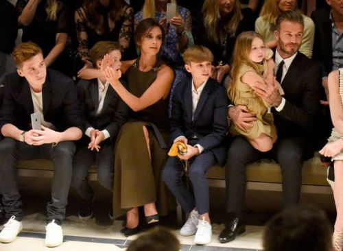 The Beckhams. All of them.