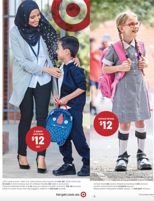 Target's latest 'Back to School' catalogue. Perfection.