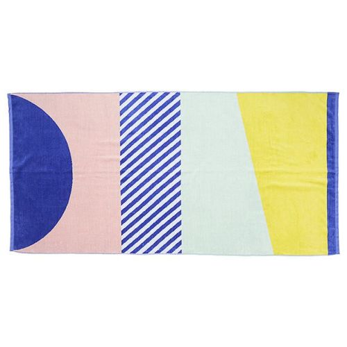 New Wave Stripe Beach Towel $15.00