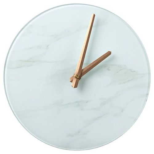 Glass Marble Clock $10.00