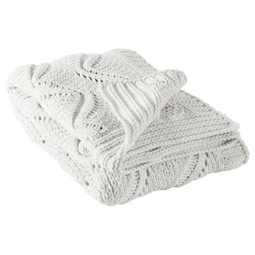 Chunky Cable Knit Throw $49.00