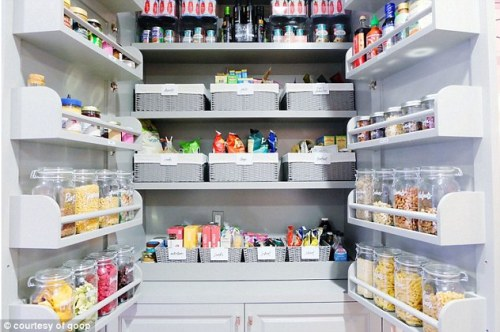 Gwenyth Paltrow's pantry