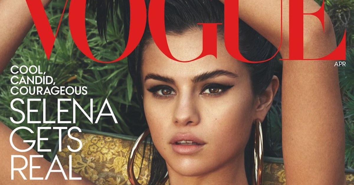 Selena Gomez Vogue FB