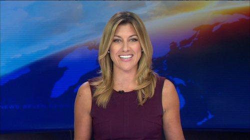 Newsreader and new mama, Talitha Cummins