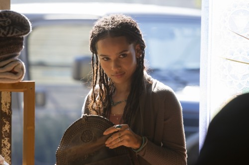 Zoe Kravitz plays Bonnie Carlson