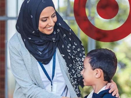 target hijab