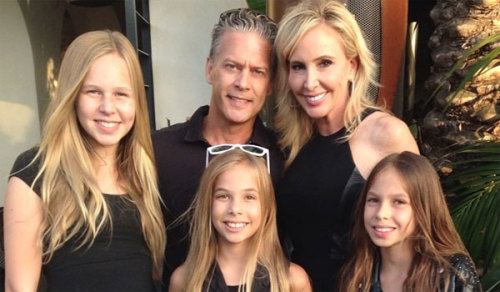 Shannon Beador with her three girls