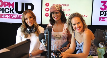 The KIIS 3pm pick up girls, Bec judd, Yumi Stynes and Monty