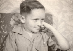 Charles Manson at five years old.