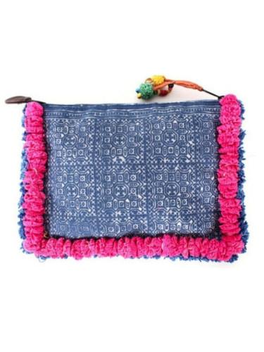 dearseptember.com.au - $45.00 - fairtrade pink clutch
