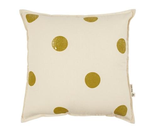 Jumbo polkadot cushion - cranmorehome.com.au -$74