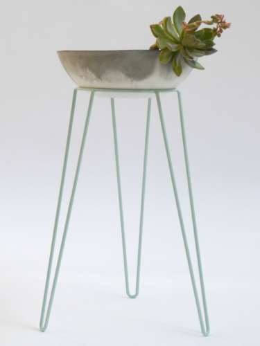 Mint Metal Wire Plant Stand - $50.00 - Wirely Home