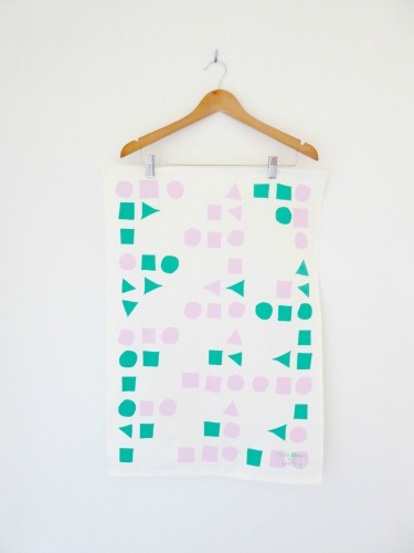 Modernist Tea Towel - $16.00 - Wirely Home