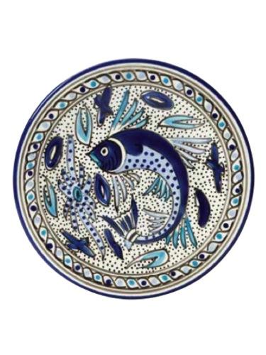 Tunisia marine serving bowl - dearseptember.com.au - $65.00