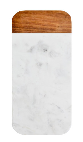 Wood and Marble Cheese Board - $48.00 - leifshop.com