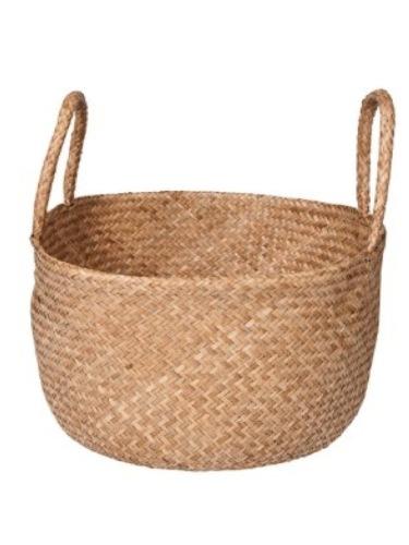 Woven carry basket - dearseptember.com.au - $60.00