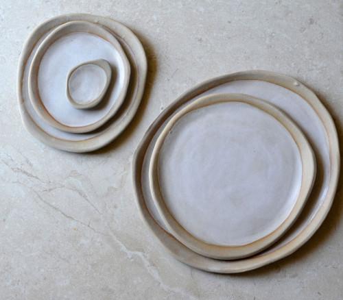 Pebble Plate - Kim Wallace Ceramics - $10.00 - Shelf/Life