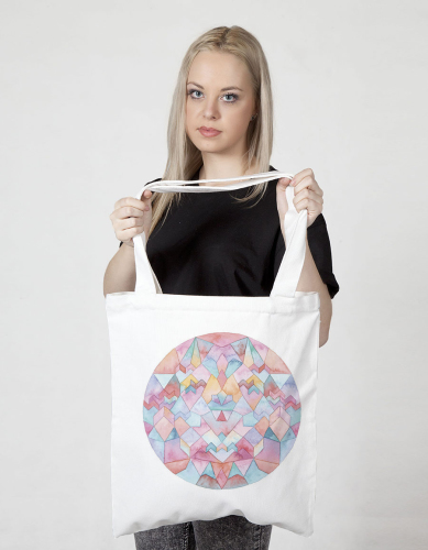 Sunset Tote - The Club Of Odd Volumns - $38.00