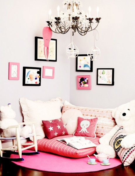 Jessica Alba's daughter Honor's room
