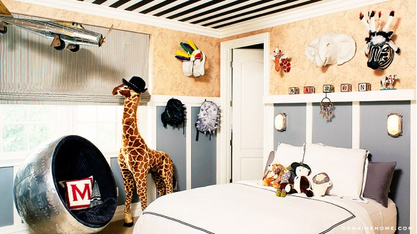 Kourtney Kardashian's son Mason's room