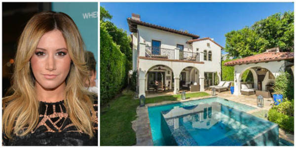 Ashley Tisdale has just put this place on the market for $2.6m in California.