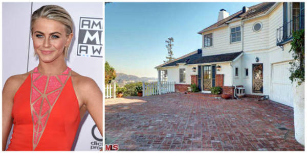 Julianne Hough just paid $1.9m for this Hollywood Hills four-bedroom place