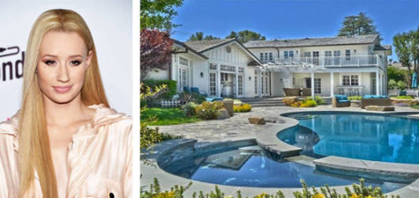 Iggy Azalea just paid $3.45m for this place in LA with her boyfriend LA Lakers player Nick Young.