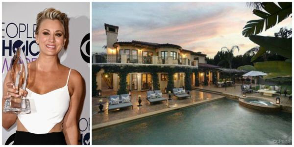 Kaley Cuoco just purchased Khloe Kardashian and Lamar Odom's seven bedroom place for $5.49m