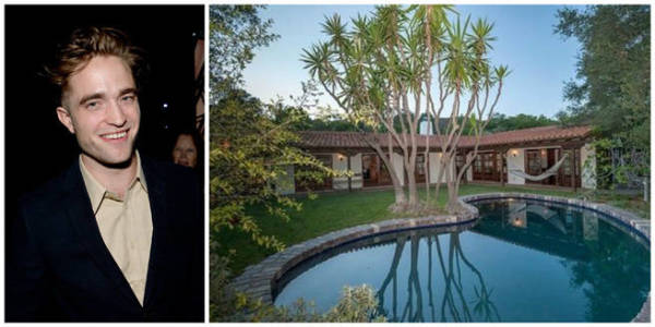 Robert Pattinson just paid $2.2 for this two-bedroom place in the Hollywood Hills